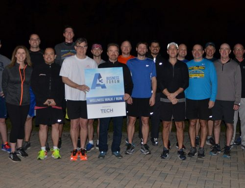 Tech B2B Sponsored the A3 Wellness Run/Walk
