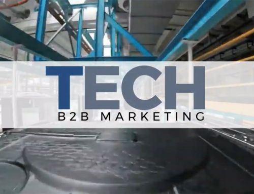 TECH B2B New Website Brings Marketing Insights
